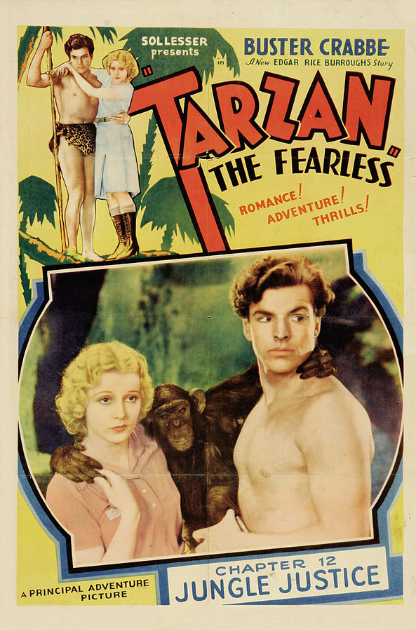 Affiche de Tarzan the Fearless (1933) [domaine public]